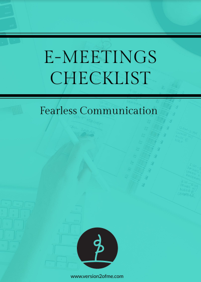 E-meetings Checklist