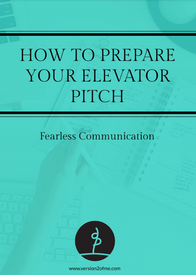 How to prepare your Elevator Pitch